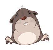 Шарж морской свинки Стоковые Фото