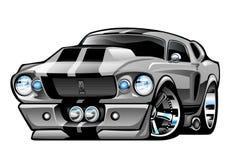 Шарж мустанга 67 Shelby иллюстрация штока