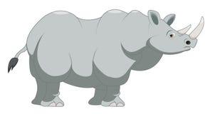 Шарж носорога Стоковое Изображение