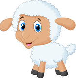 Шарж овец младенца Стоковое Изображение RF
