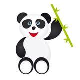 Шарж панды Стоковое Изображение