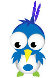 шарж птицы смешной Стоковое Фото