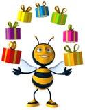 шарж пчелы Стоковое Изображение