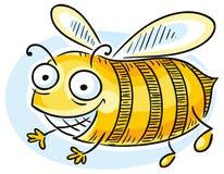 шарж пчелы смешной Стоковые Фотографии RF