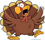 Шарж счастливая Турция Стоковое Изображение RF