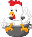 Шарж цыпленка бесплатная иллюстрация