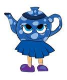 Шарж чайника Стоковые Изображения RF