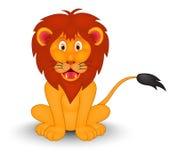 Шарж льва Стоковые Фото