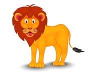 Шарж льва Стоковое Изображение RF