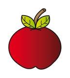 шарж яблока бесплатная иллюстрация