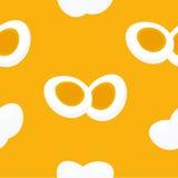 Шарж яичек ввел безшовные картину или предпосылку в моду Стоковая Фотография RF
