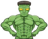 Шарж Frankenstein Стоковая Фотография