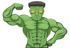 Шарж Frankenstein Стоковые Фотографии RF