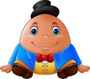 Шарж Humpty Dumpty иллюстрация вектора