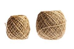 2 шарика веревочки стоковые фотографии rf