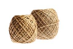 2 шарика веревочки стоковые изображения rf