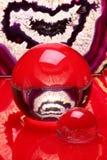 шарики агата кристаллические Стоковое Изображение
