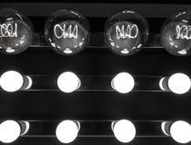Шарики аранжированные в решетке Стоковая Фотография