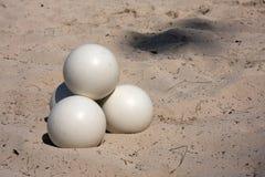 шарики белые Стоковые Фотографии RF