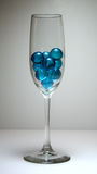 шарики голубые Стоковое Изображение