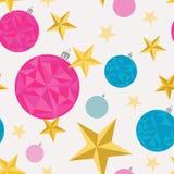 шарики делают по образцу безшовные звезды Стоковое фото RF