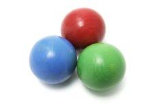 шарики жонглируя Стоковая Фотография RF