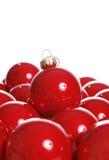 шарики красные стоковая фотография