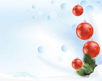 шарики красные иллюстрация штока