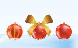 шарики красные иллюстрация вектора