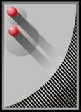 шарики красные Стоковая Фотография RF