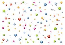шарики меньшяя текстура Стоковое Изображение