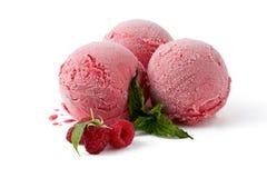 Шарики мороженого поленики с полениками Стоковое Изображение RF