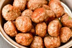 Шарики мяса стоковое фото rf
