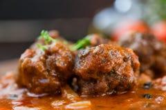Шарики мяса Стоковая Фотография RF