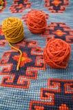 шарики над шерстями Стоковая Фотография RF