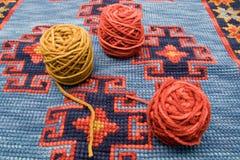шарики над шерстями Стоковые Фотографии RF