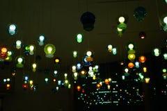 Шарики освещения Стоковое фото RF