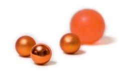 шарики померанцовые стоковые фотографии rf