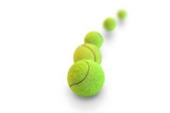 шарики предпосылки яркие - зеленое однотиповое положение больше один теннис Стоковое Фото
