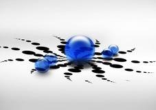 шарики прозрачные Стоковое фото RF