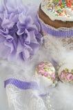 Шарики пушка торта пасхального яйца Стоковые Фото