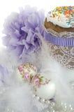 Шарики пушка торта пасхального яйца Стоковые Изображения