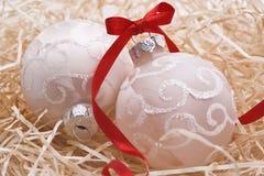 Шарики рождества Стоковые Фото