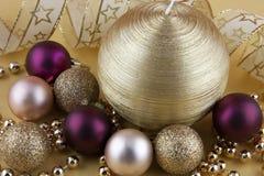 Шарики рождества Стоковое Фото