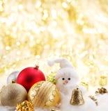 Шарики рождества Стоковое Изображение