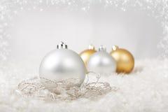 Шарики рождества Стоковая Фотография RF