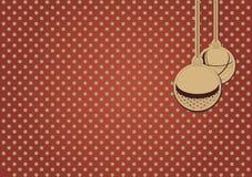 Шарики рождества Иллюстрация вектора