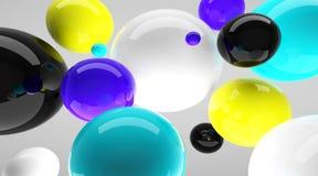 шарики светя Стоковая Фотография