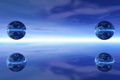 шарики стальные Стоковое фото RF