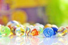 шарики стеклянные стоковые фотографии rf